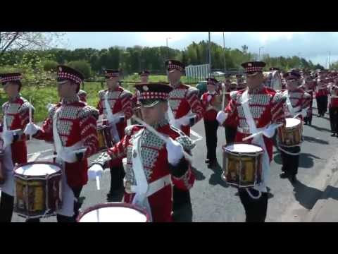 Black Skull Corp of Fife & Drum - Montage