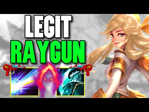 WTF?! DOUBLE HARVEST LUX SHOOTS LEGIT GAMMA RAYS AT THE ENEMY! (SPAM ULT) - League of Legends