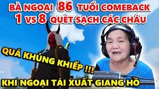 Bà Ngoại 86 Tuổi Tái Xuất Giang Hồ 1 Cân 8 Quét Sạch Các Cháu - Quá Khủng Khiếp !!!