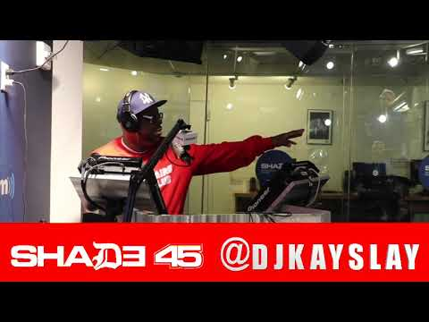 Dave East stopped through to build with Dj KaySlay at Shade45