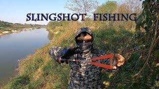 SLINGSHOT FISHING, SLINGSHOT HUNTING, РЫБАЛКА С РОГАТКОЙ