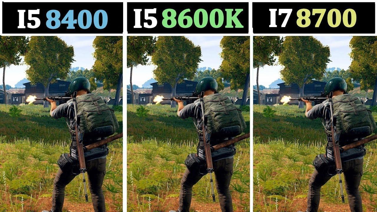 GTX 1060 & 1080 | I5 8400 vs I5 8600K vs I7 8700 | Tested 15 Games |