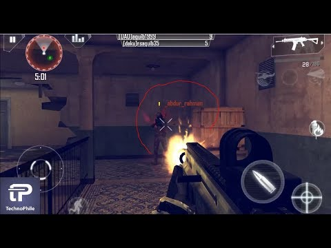 Modern Combat 4 Multiplayer Android Gameplay (BRUTAL KILLING) 21 KILL  (Best FPS)