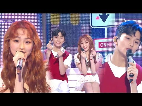 [Special Stage]MARK X MINA - A midsummer night's sweetness ,  마크X미나 - 한여름밤의 꿀  Music core 20180811