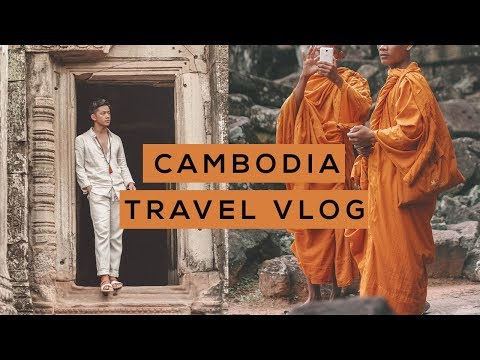 Cambodia Travel Vlog (Siem Reap)
