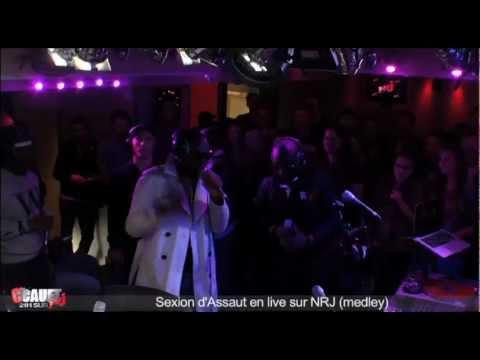 Sexion dAssaut en  sur NRJ - Medley - CCauet sur NRJ