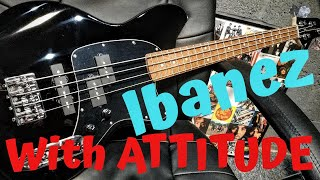 This Ibanez Short Scale Bass Has Some Serious ATTITUDE !