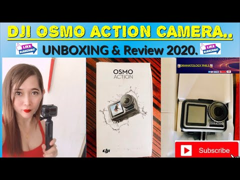 Unboxing Video:DJI Osmo Action Camera!!!-Unboxing & Review 2020 | By Dramatology Phils.