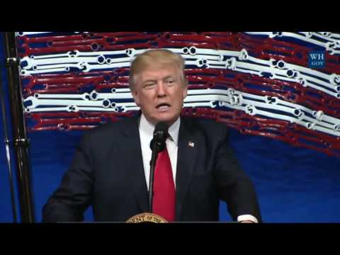 FULL EVENT  President Donald Trump Speech and Signs the Buy American