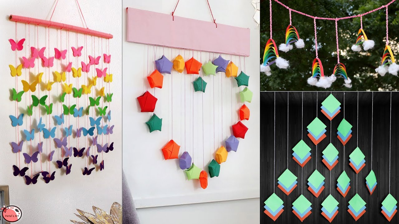 10 Easy Paper Life Hacks Ideas !!! DIY Room Decor Craft