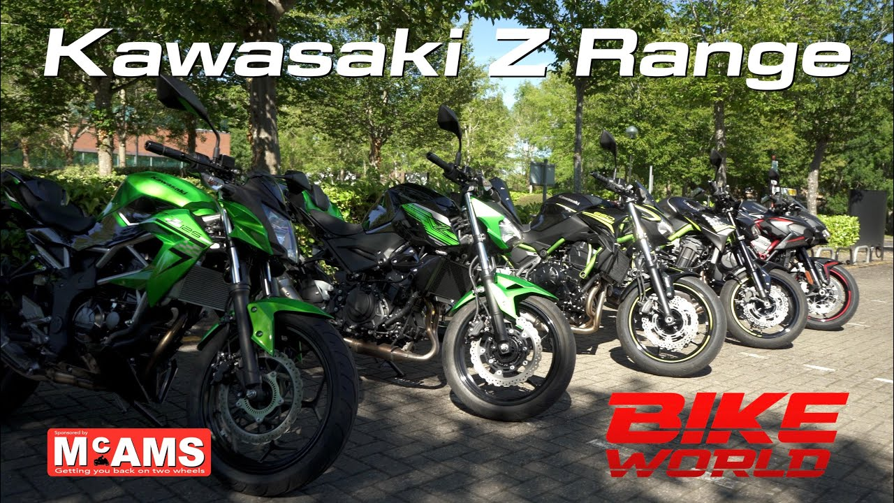 2020 Kawasaki Z Range Review (Z125 to ZH2)