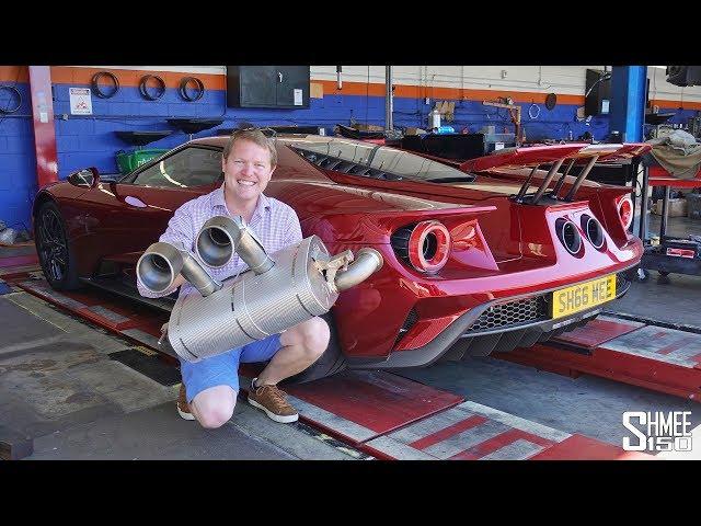 This Akrapovic Titanium Exhaust TRANSFORMS My Ford GT!