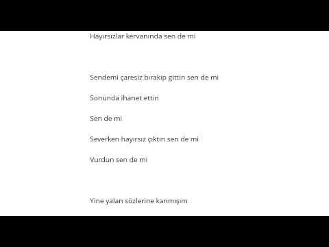Murat Şenpınar - Sende Mi mp3 indir
