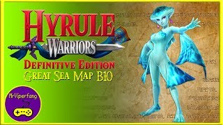 Hyrule Warriors (Switch): Great Sea Map B10 -