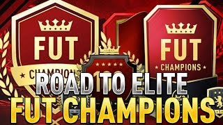 FUT CHAMPIONS WEEKEND LEAGUE!   ROAD TO ELITE!   FIFA 17