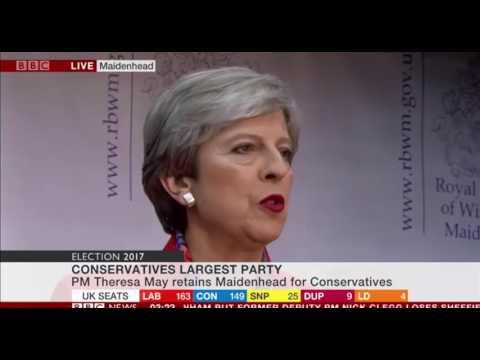 Theresa May's Speech in Maidenhead