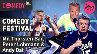 hr Comedy Festival vom 01.10.2019 mit Thorsten, Peter & Andy