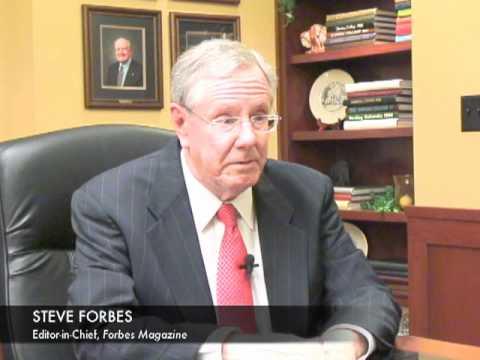 Steve Forbes, Arkansas Business Interview Pt. 1