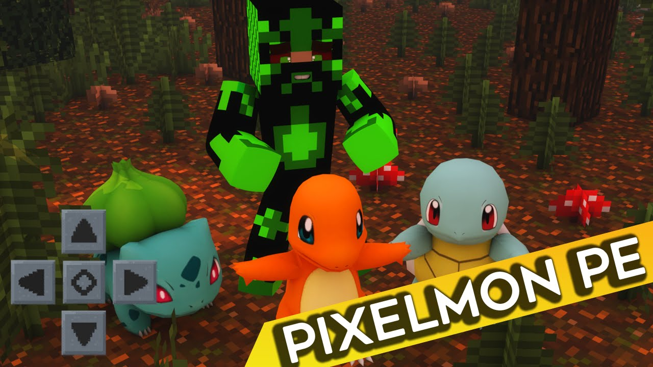 how to download pixelmon mod for minecraft pe