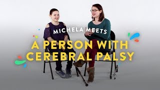 Kids Meet A Person with Cerebral Palsy (Michela)   Kids Meet   HiHo Kids