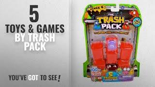 Top 10 Trash Pack Toys & Games [2018]: Trash Pack Series #4, 5-Pack