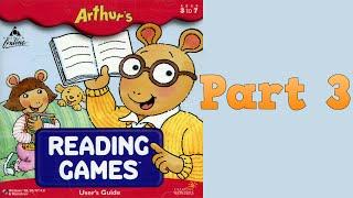 Whoa, I Remember: Arthur's Reading Games: Part 3