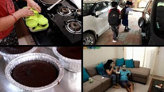 My BUSY MORNING ROUTINE | Kids School, Morning Breakfast, Lunchbox Preparation