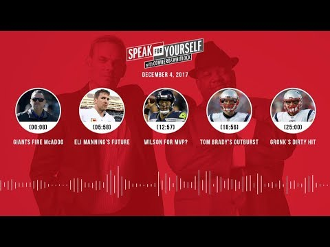 SPEAK FOR YOURSELF Audio Podcast (12.4.17) with Colin Cowherd, Jason Whitlock | SPEAK FOR YOURSELF