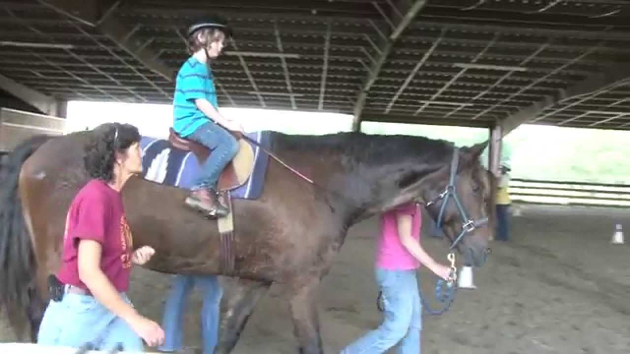 Parents Matt and Andrea talk about Autism and Horses - YouTube