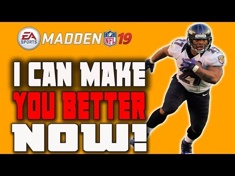 I CAN MAKE YOU GREAT AT MADDEN 19 BEFORE YOU PLAY IT!!