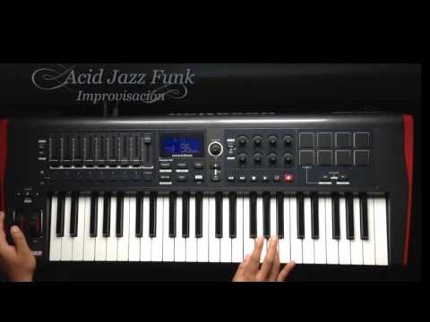 Improvisación (Am) Acid Jazz Funk