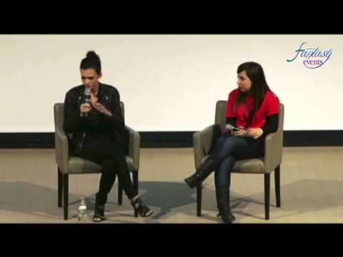 LOVE AND BLOOD ITACON ITALY - Torrey DeVitto FULL Panel