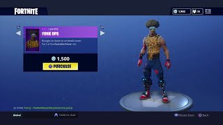 *NEW* Fortnite Item Shop Update NEW OLD SKIN FUNK OPS!