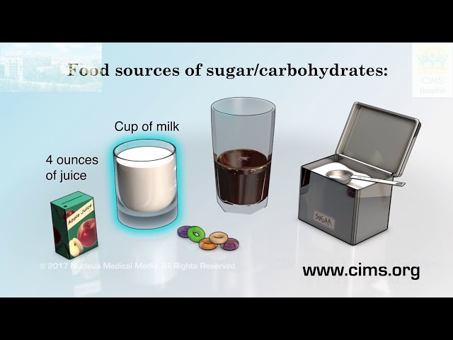 Treating Low Blood Sugar (Gujarati) - CIMS Hospital
