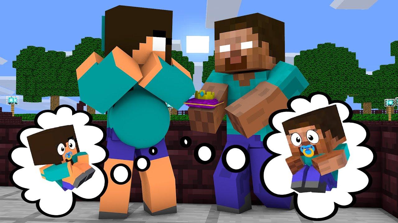 Download Monster School : EPIC HEROBRINE BREWING BABY CHALLENGE - Minecraft Animation