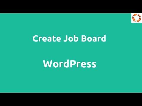WordPress Job Board Using WP Job Manager