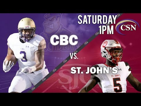 CBC Varsity Football vs. St. John's College