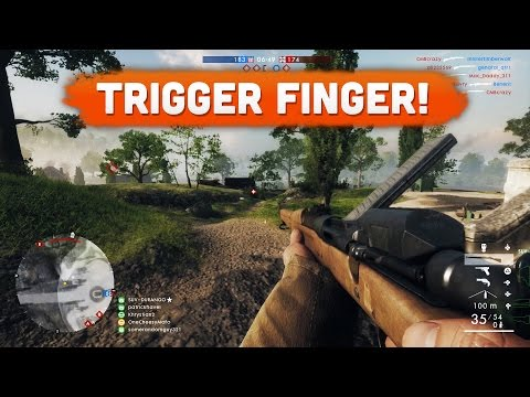 TRIGGER FINGER! - Battlefield 1 | Road to Max Rank #26 (Multiplayer Gameplay)