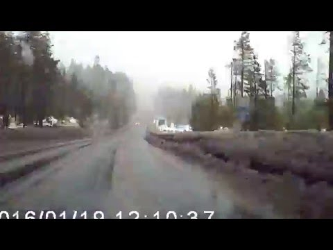Detroit to Sisters, Oregon - rain to snow to rain