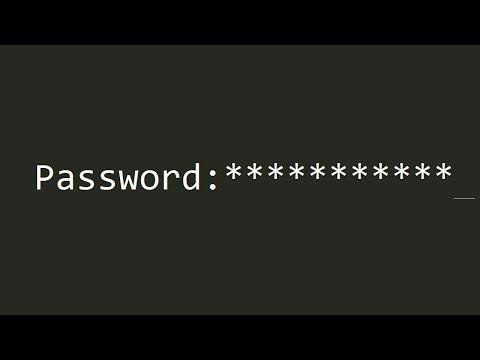 12 C | Password field program for terminal app