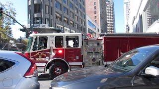 San Francisco Fire Department @ Stockton St & Market St San Francisco California