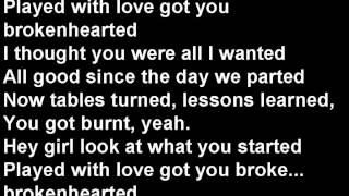 Repeat youtube video lawson ft B.o.B brokenhearted lyrics :)