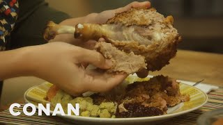 Try The Impossible Turkey This Thanksgiving - CONAN on TBS