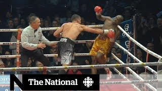 Montreal boxer Adonis 'Superman' Stevenson in hospital after fight