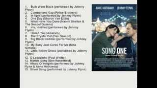 Song One Official Movie Soundtrack List