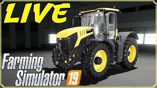 FARMING SIMULATOR 19 #84 LIVE - COMPRIAMO TRATTORE JCB FASTRAC 8330 - GAMEPLAY ITA