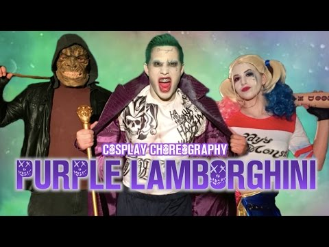 PURPLE LAMBORGHINI - Skrillex & Rick Ross Cosplay Choreography | Jayden Rodrigues JROD