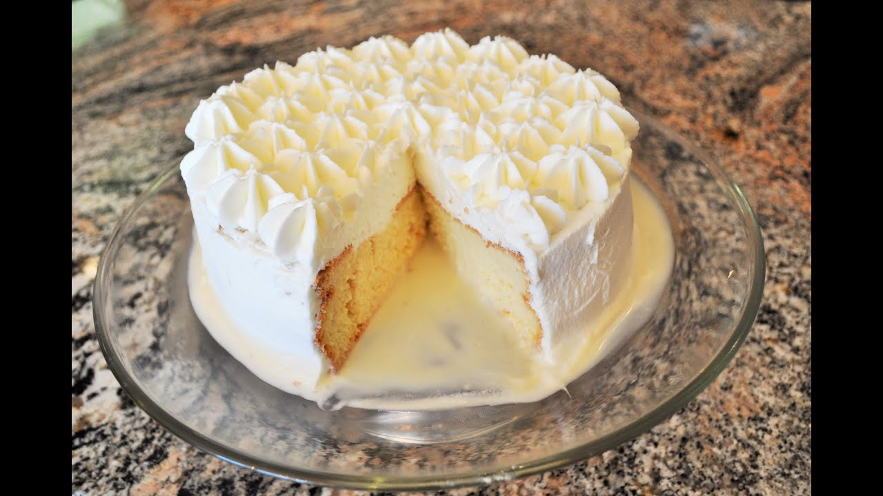 Tres Leche Cake Recipe Youtube