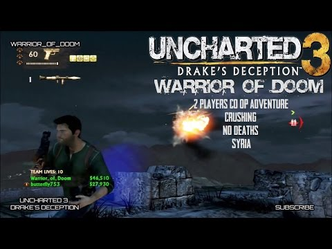 "Uncharted 3 | 2 Players Only Co-op Adventure | Syria | ""Crushing"" 