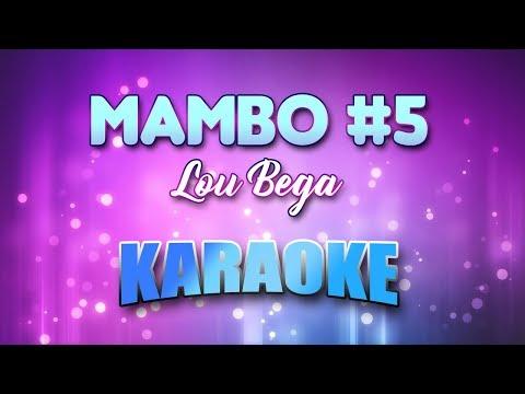 Mambo #5 - Lou Bega (Karaoke version with Lyrics)